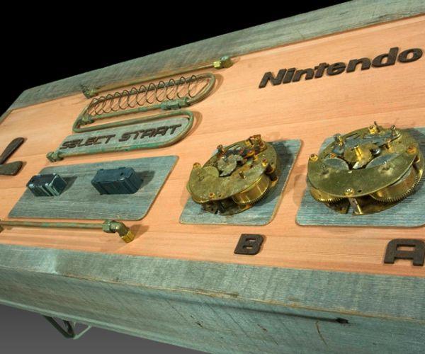 Nintendo Steampunk Coffee table