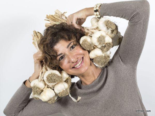 garlic-intake