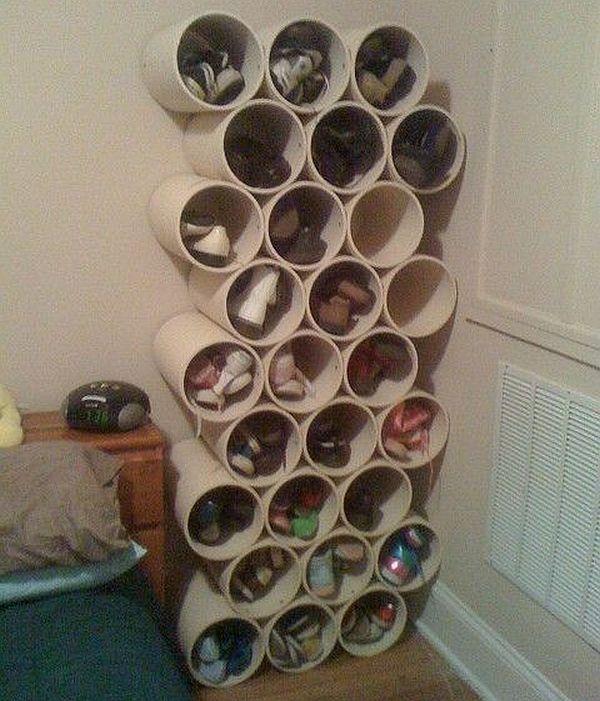 Circular shoe rack