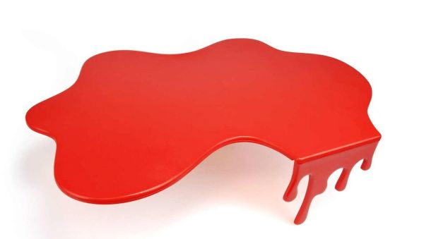 Splash Red Chopping board 1