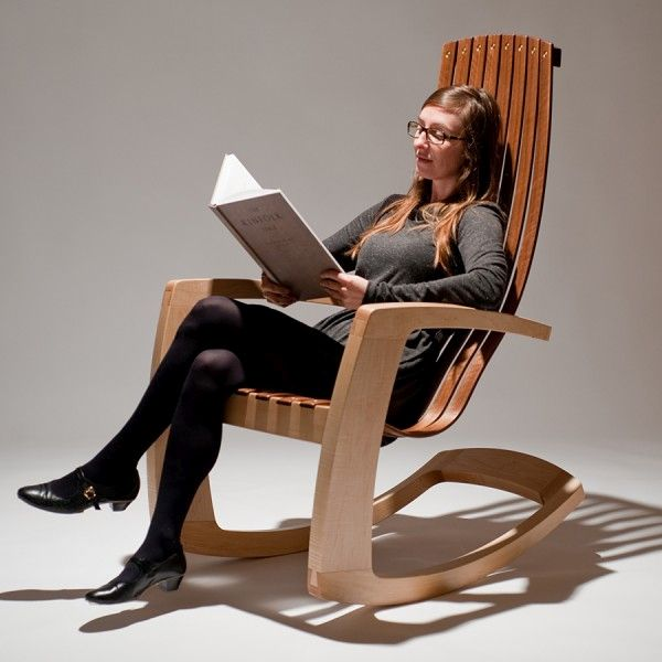 Rocking chair by J. Rusten (1)