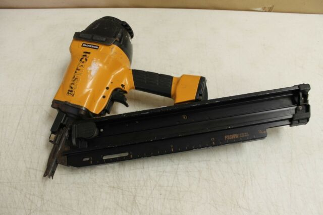 BOSTITCH Framing Nailer-Clipped Head