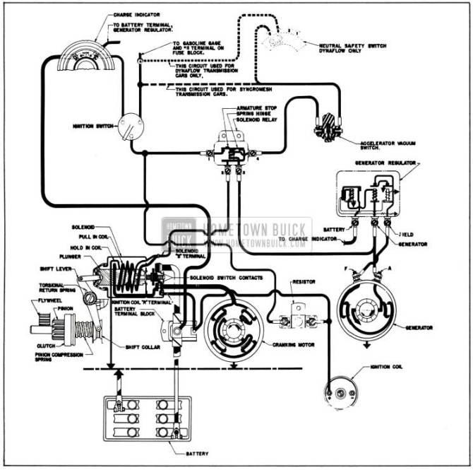 1955 buick starter wiring diagram  free vehicle wiring