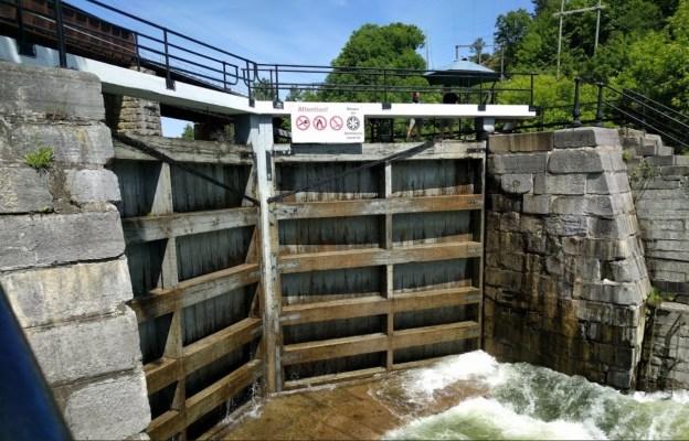 Kingston Mills Locks