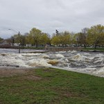 Peak point of the flooding risk has passed for Smiths Falls