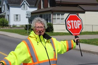 Crossing Guard Mary Lyn Durant