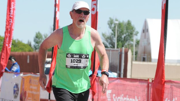 Mike Cliffen running marathon