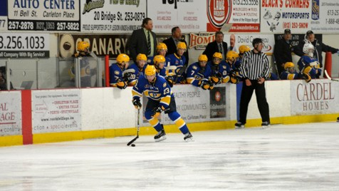 Carleton Place Canadians vs. Smiths Falls Bears.