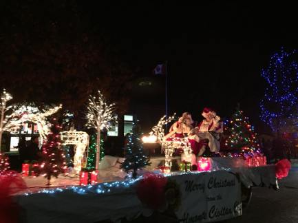 Almonte Civitan with Santa and Ms Claus