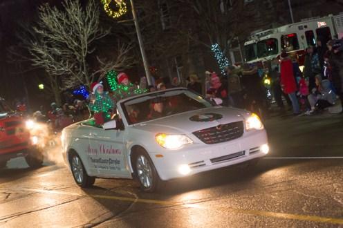 SF Santa Parade Dec 09 032