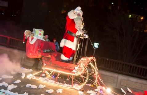 SF Santa Parade Dec 09 199