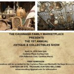 New antique marketplace to be held April 14 in Carleton Place
