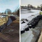 Victoria Basin construction faces slight delay
