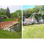 Burritts Rapids swing bridge achieved an important milestone