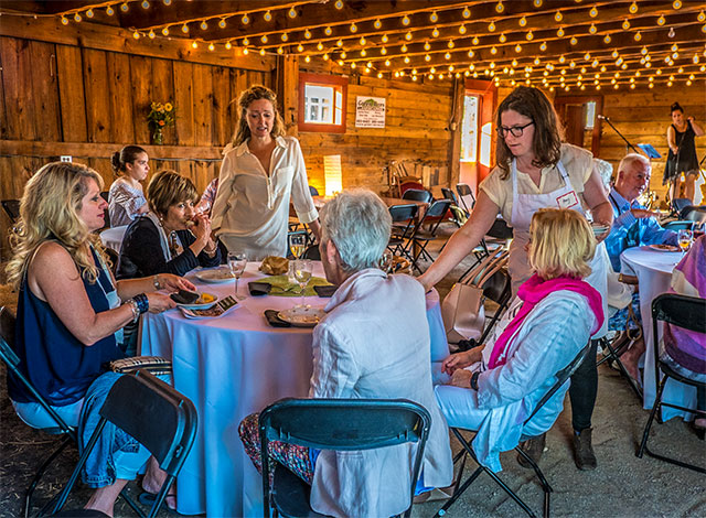 The Table's Magical Barn Party, Barns, Farms and Wicked Chefs