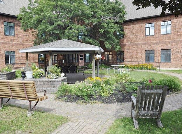Lanark Lodge Patio Opening