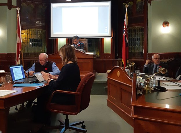 October 30 council meeting