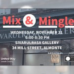 Sivarulrasa Gallery to host United Way Lanark County Mix & Mingle fall social