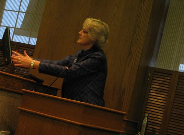 Smiths Falls Treasurer Janel Koziel