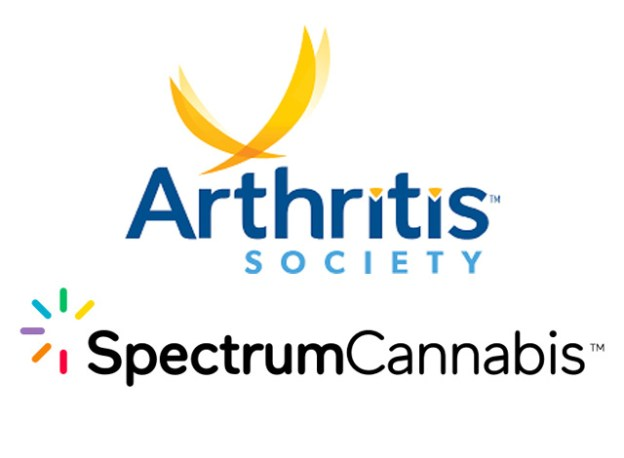 Arthritis Society and Spectrum Cannabis