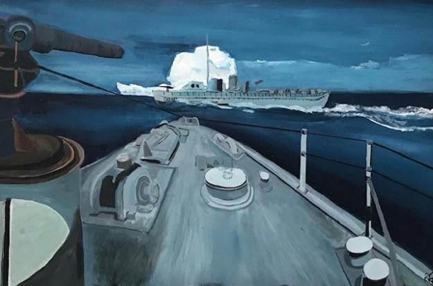 The Battle of the Atlantic by Rhyan-Ainsley Georgekish