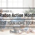November is Radon Action Month