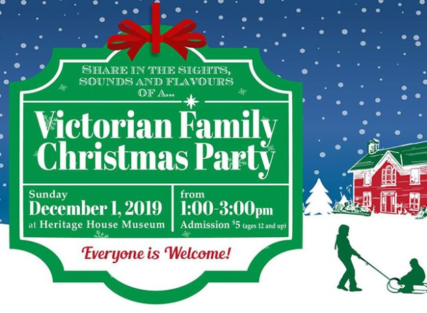 Victorian Family Christmas Party