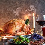 Great match: Bordeaux with stuffed Christmas turkey