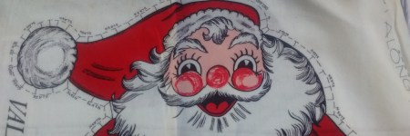 Valtex Santa pillow panel