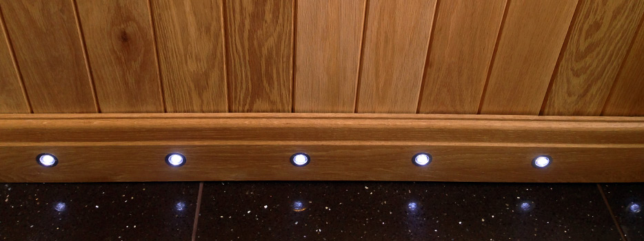 image of baseboard lighting for hometrades4u handyman in nottingham