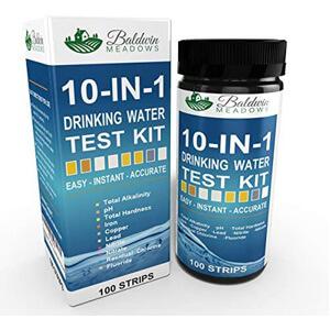 Baldwin Meadows 10-In-1 Water Test Kit
