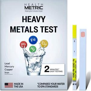 Health Metric Heavy Metal Water Tester Kit