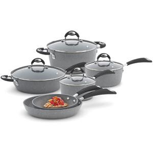 Bialetti Aeternum 10 Piece Nonstick Cookware Set