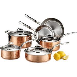 Martellata Copper 10-Piece Set