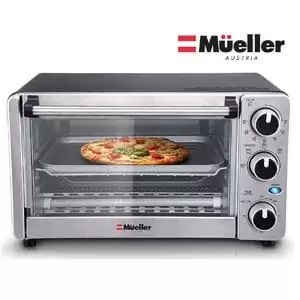Mueller Austria 4 Slice Toaster Oven