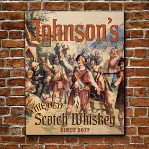 Scotch Whiskey Artwork