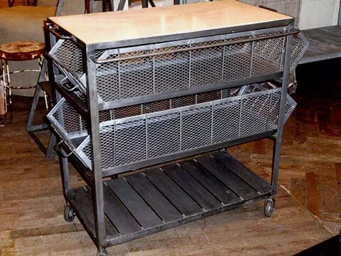 Metal Bar Carts