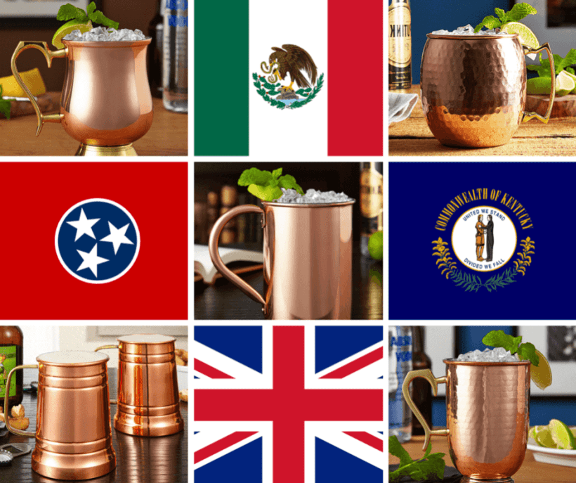 Mule Drink Recipes including Mexican Mule and London Mule