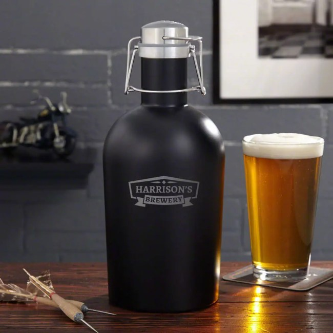 Metal Growler for Beer