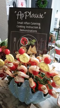 applause catering sign