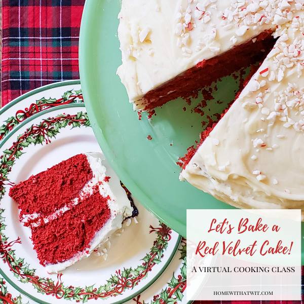 Let's Make a Red Velvet Cake – Virtual Cooking Class