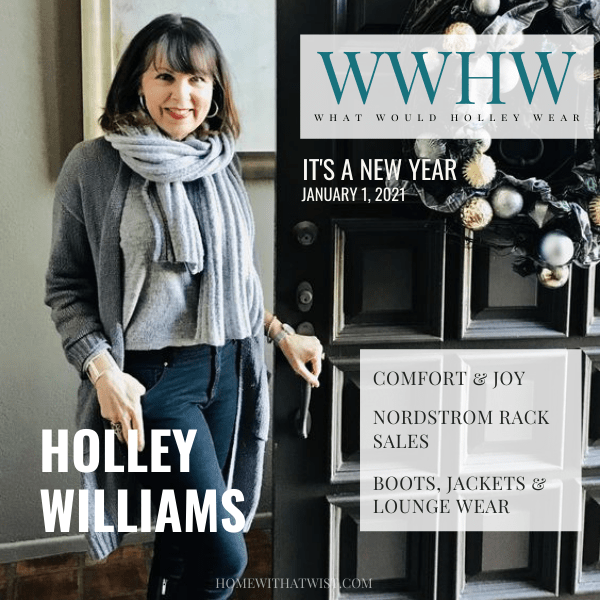 What Would Holley  Wear: Comfort & Joy at Nordstrom Rack