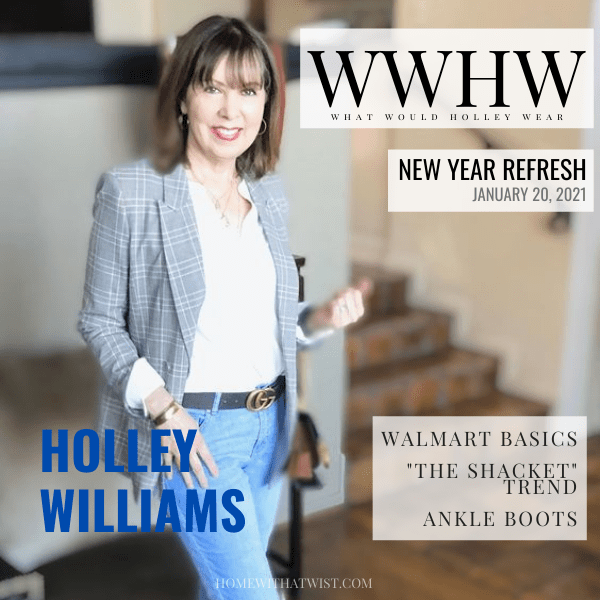 What Would Holley Wear:  Walmart Basics