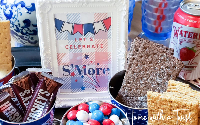 How to Create a S'Mores Bar and Free Printable