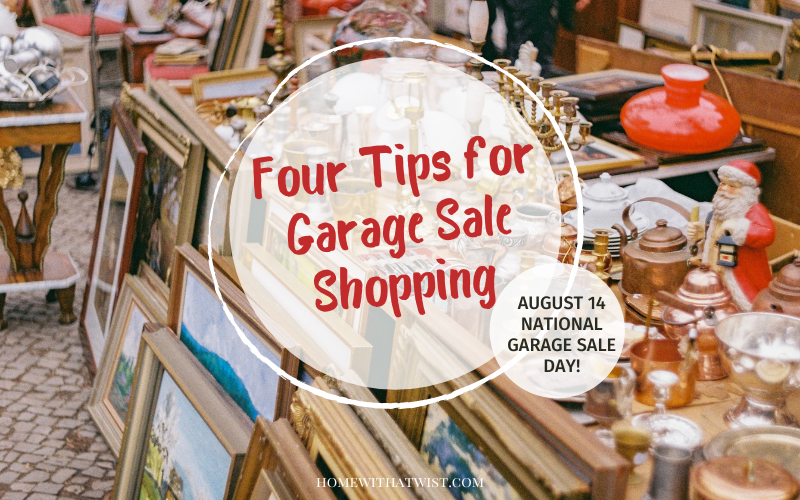 National Garage Sale Day – My Four Best Tips