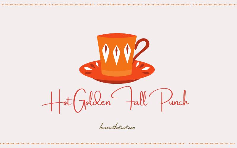 Hot Golden Fall Punch