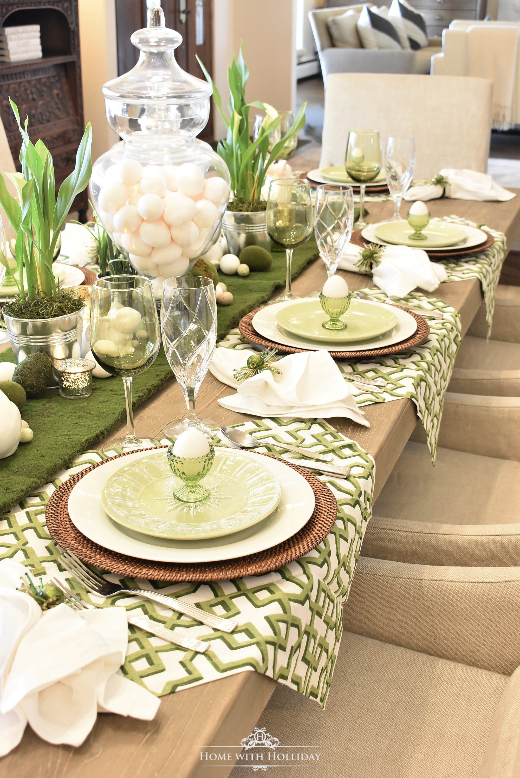 Easter Dinner Party Ideas Part - 43: Typically, They Are Less Expensive Than Placemats And There Are A Lot More  Options Available. Also, I Like How They Add Interest To The Table And How  They ...