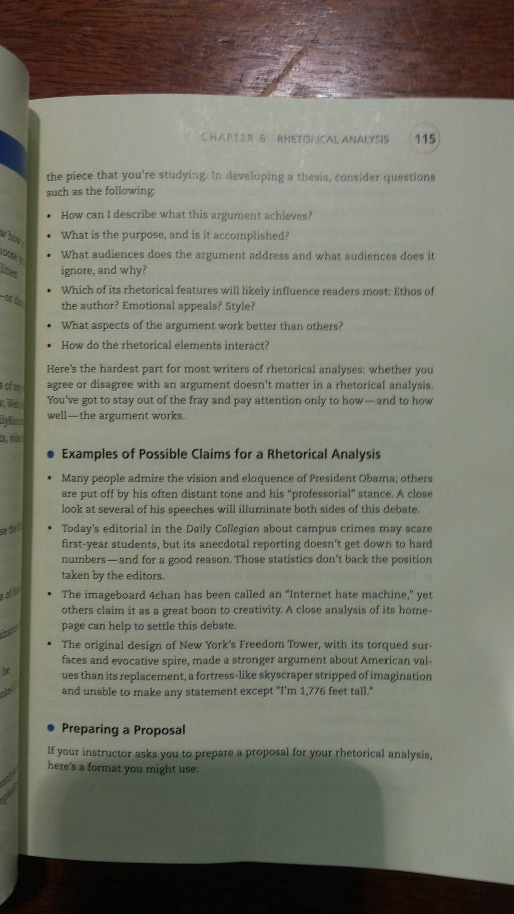 Rhetoricalysis Essay 3 4 Pages About Letter From