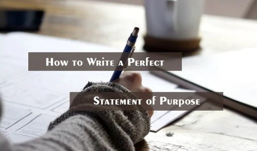 How to Write a Perfect Statement of Purpose