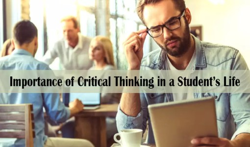 Importance of Critical Thinking in a Student's Life